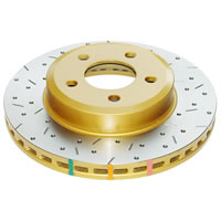 DBA 4533XS HD Series Brake Rotor (Cross-Drilled & Slotted)