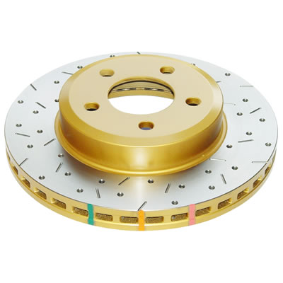 DBA 42448XS HD Series Brake Rotor (Cross-Drilled & Slotted)