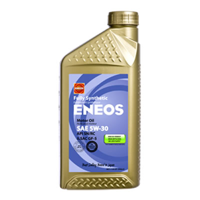 ENEOS 5W-30 Fully Synthetic Motor Oil - 12Qt Case